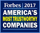 Forbes Most Trustworthy Companies Award